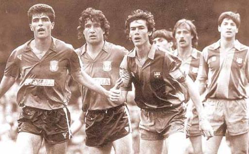 Miquel Àngel Nadal debutó con el primer equipo del Mallorca en la temporada 86-87.