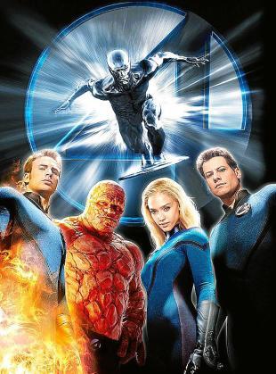Cartel de la película 'Los 4 Fantásticos'.