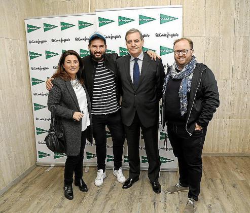 Antonia Torres, Gaspar Sampol, Josep Ramis y Tommy Ferragut.