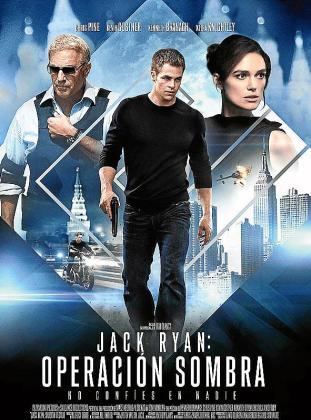 Cartel de la película 'Jack Ryan: Operación Sombra'.