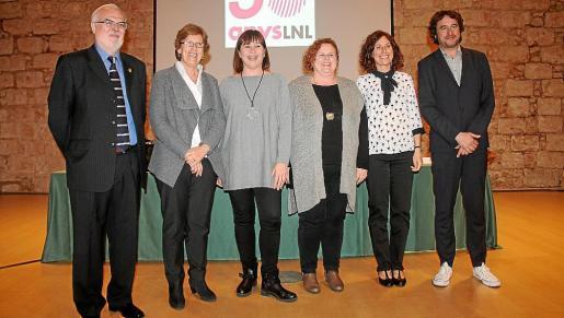 José Ignacio López Susín, Marta Xirimachs, Francina Armengol, Ruth Mateu, Marta Fuxà y Rubén Trezano.