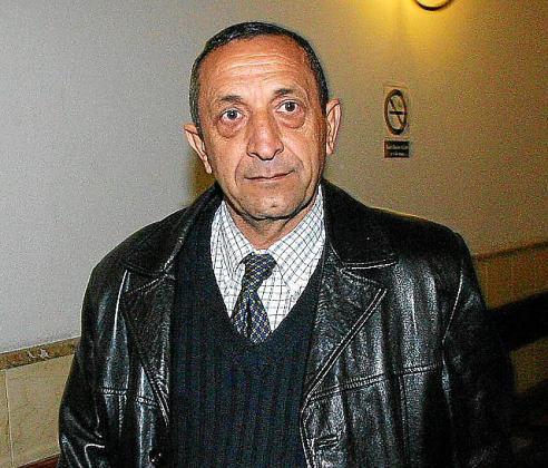 Manuel Barajas Rico, exmarido de Margarita Nájera, en 2004.