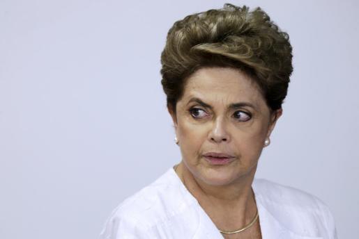 La presidenta brasileña, Dilma Roussef, en una imagen de archivo.