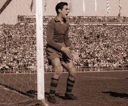 Ramallets, mítico portero del Barcelona, también vistió la camiseta del Real Mallorca.