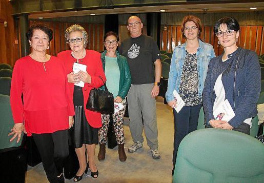 Montserrat América, Paquita Suárez, Marilena Cardell, Biel Pomar, Alexandra Nikolva y Petya Vasileva.