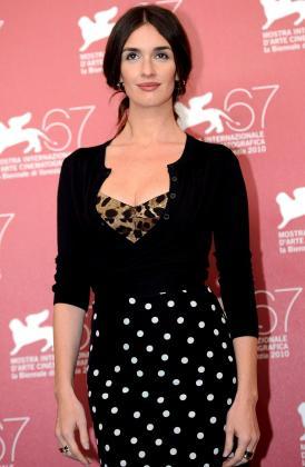 La actriz Paz Vega ha estado estos días en el festival de Venecia, donde ha presentado su última película.
