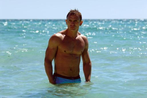 """Imagen de la cinta """"Casino Royale"""" con Daniel Craig."""