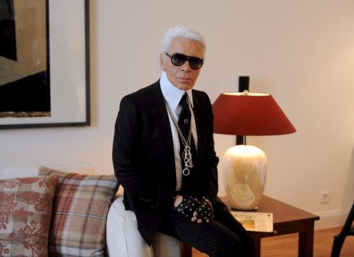 Karl Lagerfeld, en una imagen de archivo.