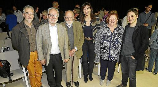 Albert Soler, Antoni Ignasi Alomar, Anthony Bonner, Laura Borrás, Ruth Mateu y Joan Santanach.