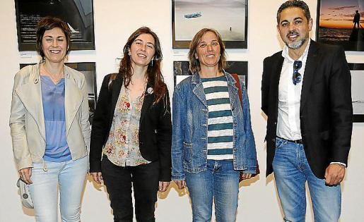 Francisca Niell, Neus Truyol, Aina Llauger y Toni Bennàsar.