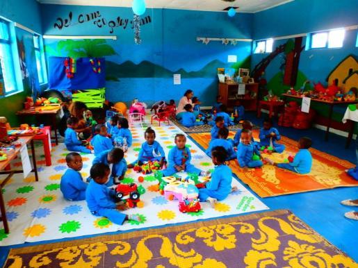 Escuela etíope de Abugida, a la que asisten 200 niños y niñas de los más necesitados de Etiopía.