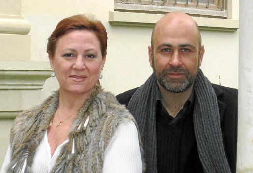 María Lourdes Benítez y Enrique Díaz Medina actuarán en este concierto solidario.