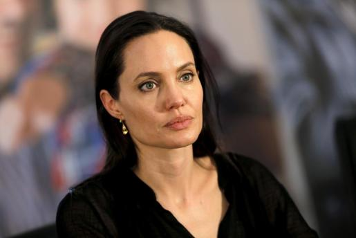United Nations High Commissioner for Refugees (UNHCR) Special Envoy Angelina Jolie attends a news conference as she visits a Syrian and Iraqi refugee camp in the southern Turkish town of Midyat in Mardin province, Turkey, June 20, 2015. REUTERS/Umit Bektas/File Photo WOMEN-CONFLICT/LSE-JOLIE