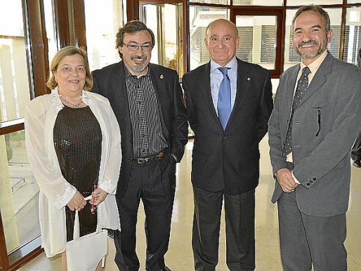 Rosa María Sanz, Felipe De Luis, Francisco Martorell y Ramón Ara.