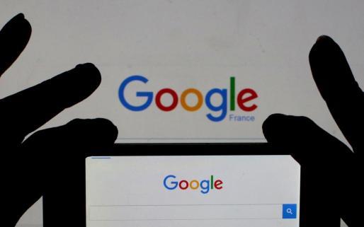 Registro en la sede parisina de Google.