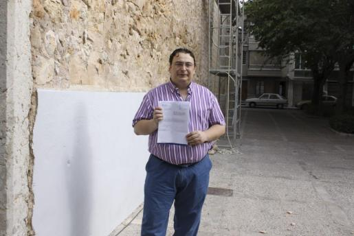 Imagen de archivo del exedil inquero Andreu Caballero.