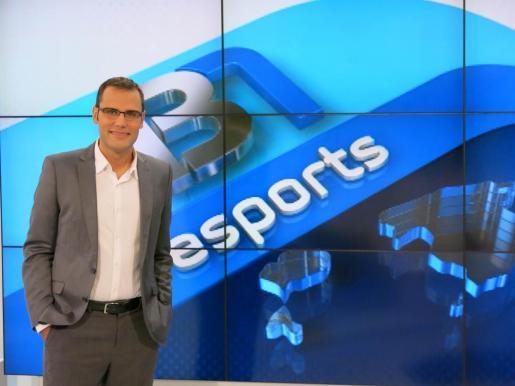 El periodista Albert Salas ha sido nombrado como nuevo jefe de Deportes de IB3 Televisión.