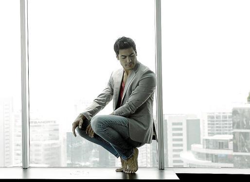 Carlos Rivera, en una imagen promocional de su nuevo disco, 'Yo creo'.