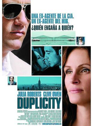 Cartel del film 'Duplicity'.
