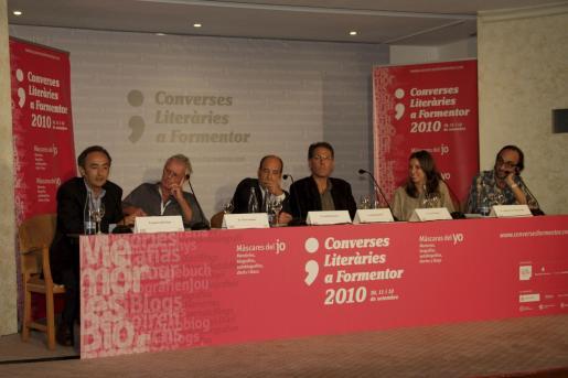 Francesc Antich ha dado paso a los debates literarios en el famoso Hotel Formentor