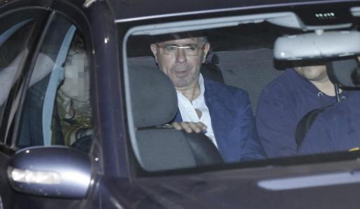 Francisco Granados, exsecretario general del PP de Madrid, a su salida de los juzgados.