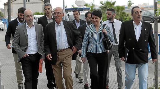 Policías del Grupo de Delincuencia Económica en el juicio del 'caso Nóos'.