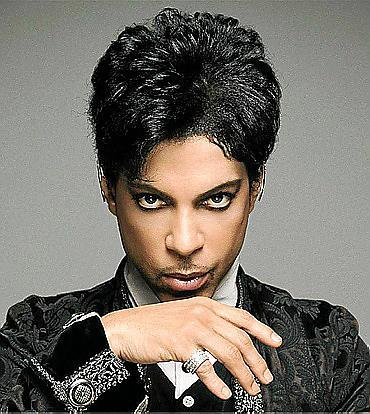 Fotografía del cantante Prince durante la presentación de su biografía.