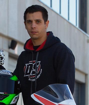 David Salom, piloto de Superbikes y primo del fallecido Luis Salom.
