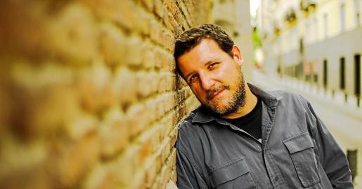El cineasta Francisco Gené Cort, autor del documental sobre grupos de rock españoles 'Los zapatos no vuelan'.