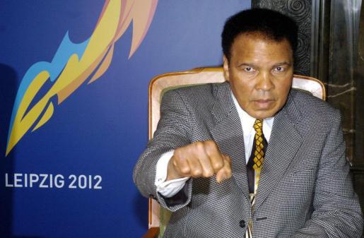 Mohamed Alí, en una imagen de archivo.