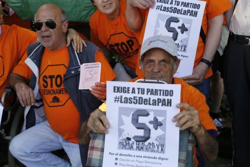 La Plataforma de Afectados por la Hipoteca ha presentado #Las5DeLaPAH.