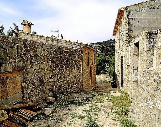 Casas viejas de Biniarroi, la vieja alquería de Mancor.
