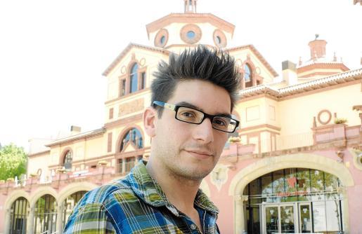 El actor mallorquín Mario Mañas.