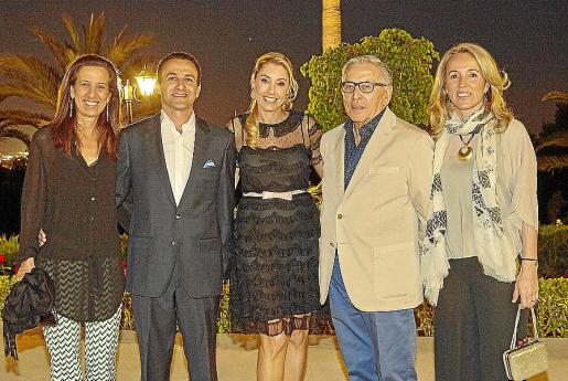 Marta Ferrer, Guillermo Sánchez-Cantalejo, Irma Riera, Simón Alba y Fanny Alba.