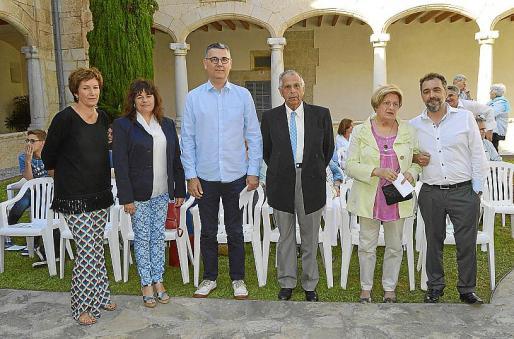 Margalida Solivellas, Carme Lorente, Miquel Pieras, Gabriel Ferrer, Ana Muñoz e Ignasi Coli.
