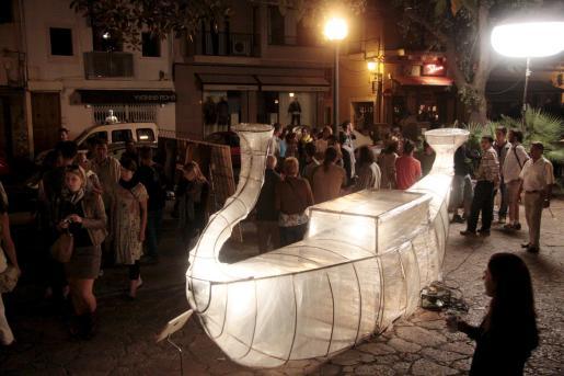 Cada año, las calles de Palma se convierten en un museo al aire libre en la Nit de l'Art.