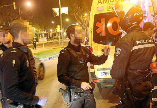 La Policía Nacional ha abierto una investigación para identificar al agresor de la taxista.