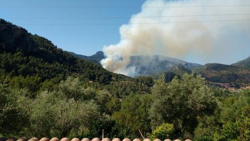 El incendio se ha declarado en torno a las 16.30 horas.