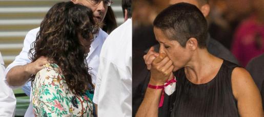 María Antonia Horrach, madre de Luis Salom, ha sacrificado su larga melena para que su hijo la tenga para siempre.