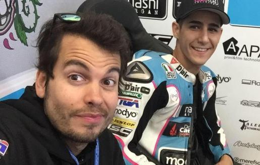 Luis Costa y Luis Salom, juntos en una fotografía.