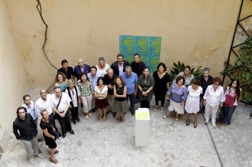 La Nit de l'Art 2010 ha sido presentada esta mañana por las asociaciones organizadoras.