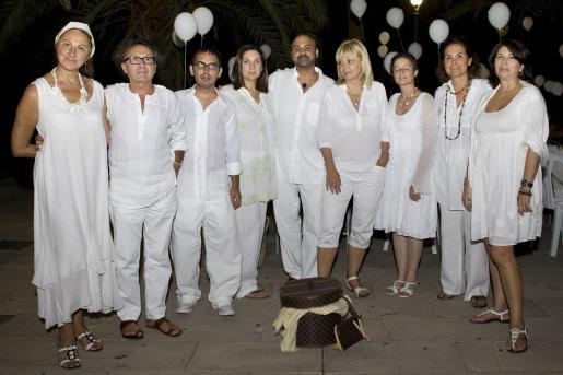 Marga Forteza, Jaime Llabrés, Carlos Capó, Blanca Ripoll, Karim Gaafar Pacha, Helena March, Magdalena Alcover, Ascension Vert y Concha Calvo.