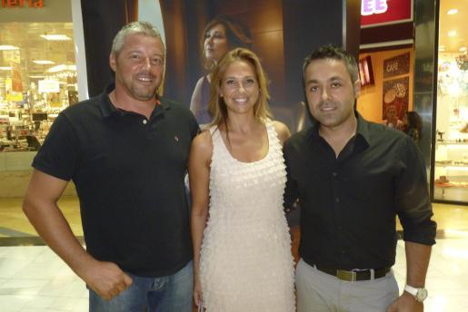 Bernardo Bonnín, Victoria Maldi y Juan Pablo Herranz.