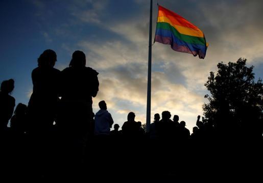 Imagen de un homenaje a las víctimas de la masacre de Orlando.