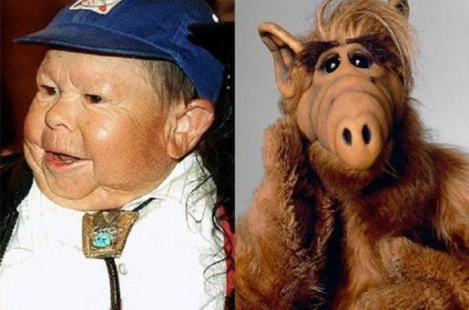 Mihaly «Michu» Meszaros se hizo popular en los años 80 por ser quien daba vida al extraterrestre Alf.