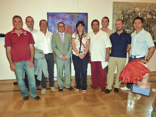 Jorge Azri, Jaime Mateu, Tolo Aguilar, Cosme Bonet, Divina Muñoz, Mauricio Tejada, Cristian Castro, Niko Mosko y Oswaldo Fernández.
