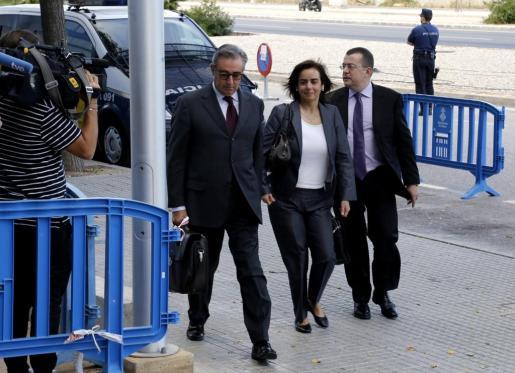 Diego Torres, Ana María Tejeiro y Manuel González Peeters.
