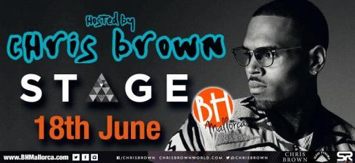 El cantante Chris Brown visitará Mallorca.
