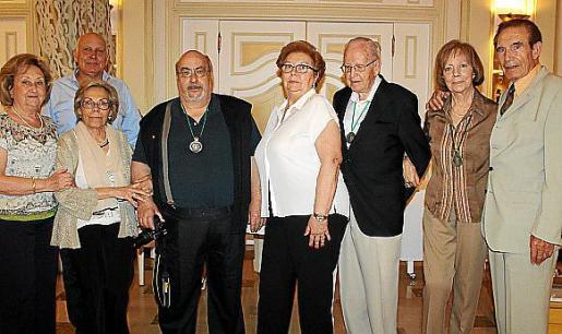 Ana María Camps, Alejandro García, Asunción Llavería, Andreu Negre, Joana Ballester, Andreu Martí, Antonia Amengual y Salvador Vallverdú.