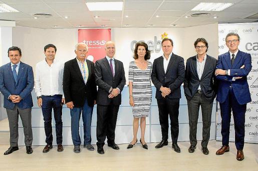 Aurelio Vázquez, Óscar Mayol, Pau Bellifante, José Miguel Maté, Carmen Planas, Daniel Lacalle, Frederic Mudoy y José Ibáñez.